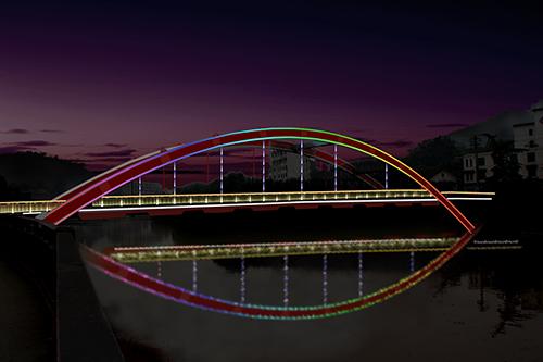 乐山彩虹桥